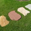 Pískovec indický, 4 odstíny