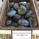 Kámen leštěný černý