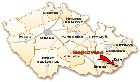 Kamenné centrum bojkovice